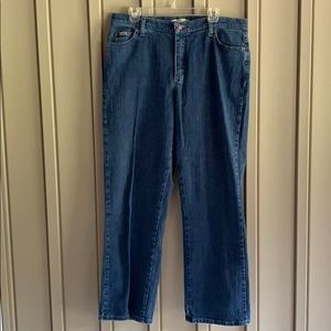 Lee Relaxed Straight Leg Jeans size 16